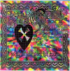 Acid Test Diploma BLOTTER ART - perforated acid art paper - Kesey Leary Hofmann Owsley Grateful Dead psychedelic lsd sheet tabs