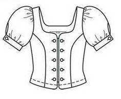 Dress summer polka dot coloring page for girls, printable