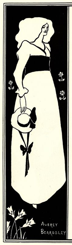 Yellow Book Poster, 1894 Aubrey Beardsley ...
