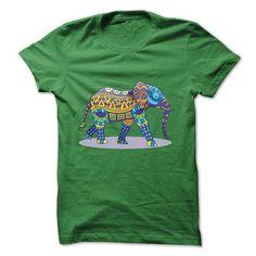 Colorful elephant T Shirts, Hoodies. Get it here ==► https://www.sunfrog.com/Funny/Colorful-elephant.html?41382