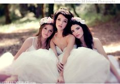 Midsummer Night's Dream Wedding Inspiration with Twigs and Honey Hairpieces and Tablescape Ideas