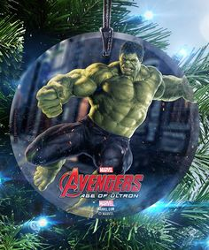 Look what I found on #zulily! The Incredible Hulk StarFire Prints™ Ornament #zulilyfinds