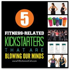 Five workout and health-related Kickstarter campaigns we're loving.