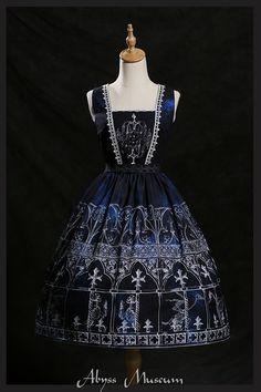 【深渊博物馆】原创艾尔塔罗斯的殿堂 jsk lolita 洋装连衣裙定金-淘宝网全球站