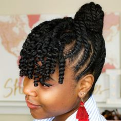 black hair inspiration B R I A N A L Y N E E (bria - hairinspiration Protective Hairstyles For Natural Hair, Natural Hair Braids, Girls Natural Hairstyles, African Braids Hairstyles, Braids For Black Hair, Natural Hair Styles, Natural Protective Styles, Dreadlock Hairstyles, Hair Twist Styles