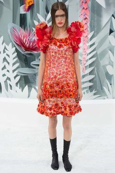 Chanel Spring 2015 Couture Fashion Show Collection