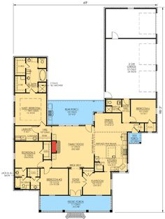 Plan W56338SM: Louisiana Charm