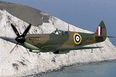 """Early war paint job but looks like a Mk VIII or IX, I'm thinking Battle of Britain movie"" KB"