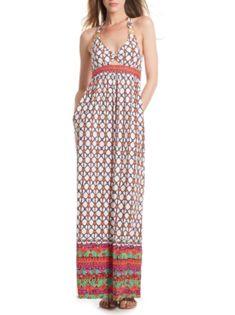 Trina Turk Venice Beach Long Dress