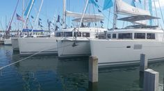 Lagoon 450 and 560 S2 Strictly Sail Miami 2015 caroline.laviolette@catamarans.com