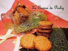 LA COCINA DE PINKY: GALLETAS DE SALVADOS Y NUECES