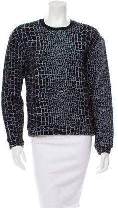 Kenzo Patterned Pullover Sweatshirt Hoodies, Sweatshirts, Kenzo, Black And Grey, Scoop Neck, Men Sweater, Turtle Neck, Pullover, Stylish