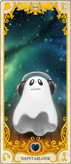 Undertale Tarot Cards: Napstablook