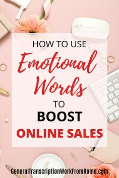 Increase sales by using emotional words. Learn how to use emotional trigger words in your marketing messages to increase sales. #onlinemarketing #emotionalmarketing #emotionalsellingproposition #emotionalselling #marketingmessage #digitalmarketing #marketingstrategy #emotionalbranding #onlinemarketingtips Digital Marketing Strategy, Marketing Strategies, Email Marketing, Affiliate Marketing, Internet Marketing, Make Money Blogging, How To Make Money, Business Tips, Online Business