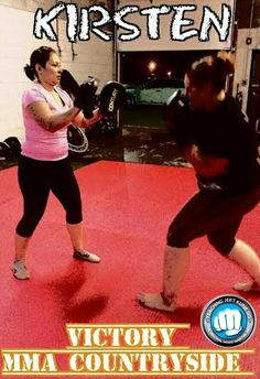 Victory MMA Countryside 8/26/15 with the Wednesday night MMA class! Training hard!