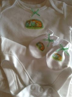 Babys guess how much i love you bodysuit by TinkerbellsTinkers