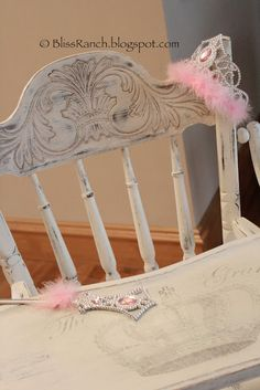 Bliss Ranch: DONE.. High Chair Chalk Paint Makeover
