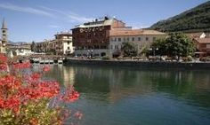 Omegna: Hotel Albergo CROCE BIANCA *** direkt am Ortasee