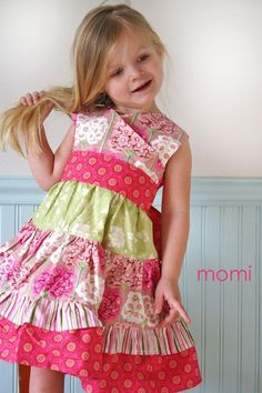 I think this is a dress this little girl will remember even when she's an adult.