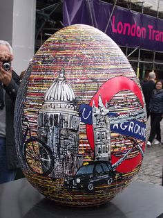 Faberge egg hunt - Covent Garden, London.