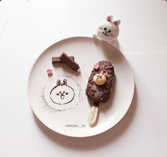 """249 Likes, 6 Comments - Brown  Cony Sally & Noouhu (@noouhu_yu) on Instagram: """"⚪⚪ Cony Ice cream ! ❤ อร่อยๆ ด้วยกันค่ะ  _ _ _ #linefriends #linecony #linethailand #Cony…"""""""