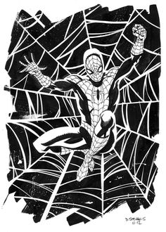 Spider-Man by Dave Stokes
