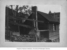Princess Angeline's house, Seattle, ca. 1900