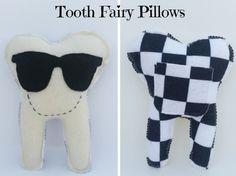 Tooth Fairy Pillow Handmade Tooth Fairy Pillow by RaisinFran
