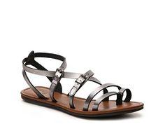 Mia DeeDee Gladiator Sandal (in Brown) - DSW $29.95