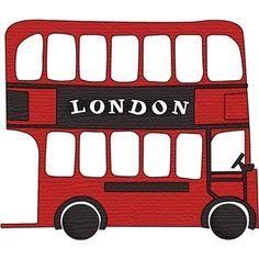 Silhouette Design Store - View Design #15822: double decker bus london