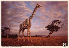 WWF: Giraffe     Save the world with a few coins. Donate at www.wwf.at  Advertising Agency: Jung von Matt/Donau, Vienna, Austria