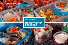 If you fancy trying out new ways to keep healthy mealtimes interesting, so here are four healthy lunchbox ideas.