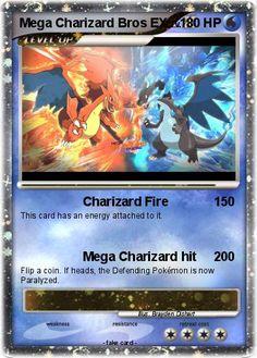 Pokemon Mega Charizard Bros EX