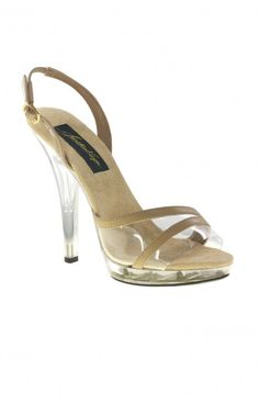 Beauty Queens, here is your shoe! Beautiful taupe heels with clear strap over toes as well as a clear sole. Great for pageants! The perfect swimsuit pageant shoe, hence the name! Pageant Shoes, Prom Shoes, Pageants, Beauty Queens, Your Shoes, Taupe, Swimsuits, Sandals, Heels