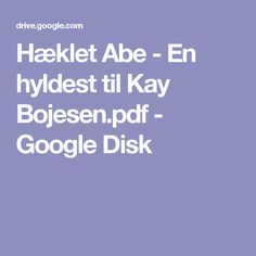 Hæklet Abe - En hyldest til Kay Bojesen.pdf - Google Disk
