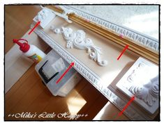 Handmade Crafts, Diy And Crafts, Faux Fireplace, Clothes Hanger, Building A House, Room Decor, How To Plan, Interior, Wall