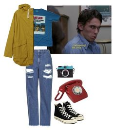 freaks (and geeks) by xoxochristinaa on Polyvore featuring мода, TAXI, KAROLINA, Topshop, Converse and CO