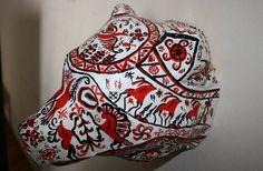 Bear head Russian ethnic style MEZEN. Paper от PaperTrophyHeads