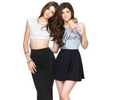 Kendall and Kylie Jenner - Metal Haven Jewelry Line Nordstrom... Sister to sister!