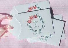 Wedding Guest Favors for a Pink Wedding by Abbey and Izzie Designs