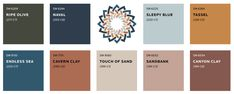 2020/2021 Colour Trends: Cool, Calm & Collected Right Here! Trending Paint Colors, Paint Colors For Home, House Colors, Interior Wall Colors, Interior Design Shows, Cabinet Medical, Elements Of Design, Home And Deco, Earth Tones