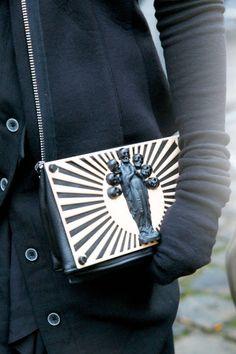 Paris Accessories, McQueen, clutch