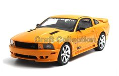 84.80$  Watch here - http://aliode.worldwells.pw/go.php?t=32782549599 - * Orange Autoart 1/18 FORD SALEEN MUSTANG S281 E 2007 Classic Muscle Die-Cast Model Car Modell Auto