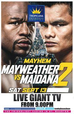 Mayweather vs Maidana 2