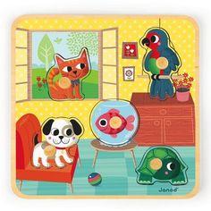 janod puzzle domácí mazlíčci 249 Kč