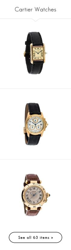 """Cartier Watches"" by bleubeauty1 on Polyvore featuring jewelry, watches, white gold watches, diamond bezel watches, analog watches, blue jewelry, water resistant watches, dial watches, cartier watches and cartier jewelry"