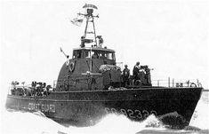 "Task Force 115. Coastal/River patrol USCG WPB 82"" Combat patrol Cutter On patrol in I-Corp. Republic of Viet Nam."