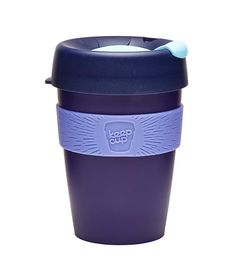 Copo KeepCup Blueberry - 340 mlO KeepCup é o copo reutilizável ideal para quem não prescinde da companhia da sua bebida preferida, em qualquer altura e lugar! Desenhado especialmente para café e chá, é hoje verdadeiramente adorado no mundo inteiro por que