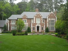 The English Revival/Tudor influenced home seems to have been a popular choice for new homes in Atlanta over the past 10 years