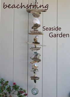 beachstring: DRIFTWOOD ART -love the style of this one.